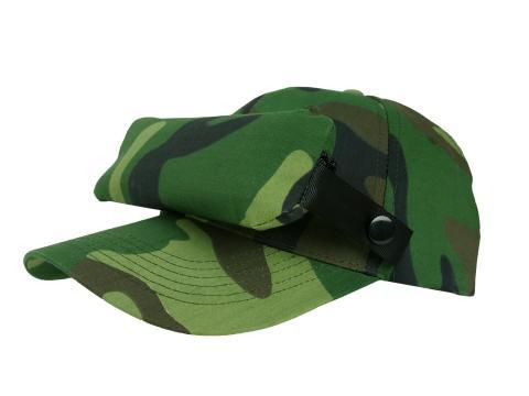 Casquette Moustiquaire_Camouflage Verte