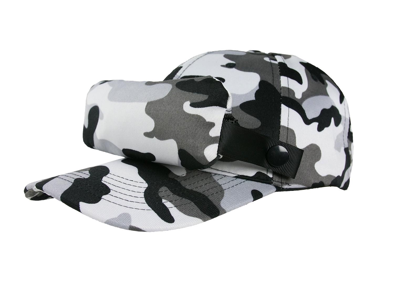 Casquette Moustiquaire_Camouflage Gris